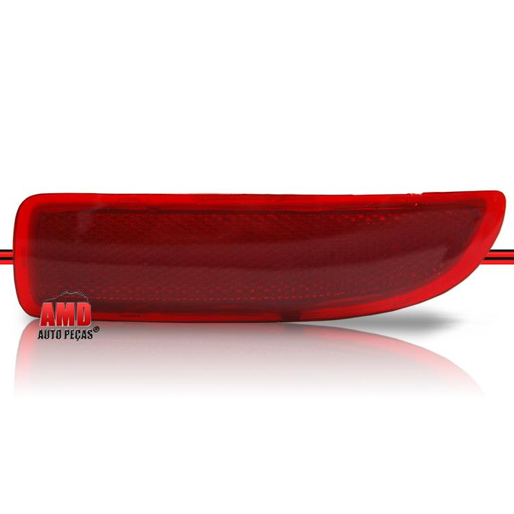 Par Aplique Lanterna Defletor Parachoque Traseiro Corsa Hatch 03 a 09 Rubi  - Amd Auto Peças