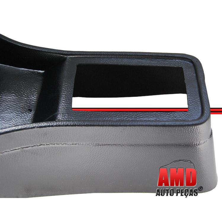 Console Passat Pointer 85 a 89 Fechado Alto Preto  - Amd Auto Peças