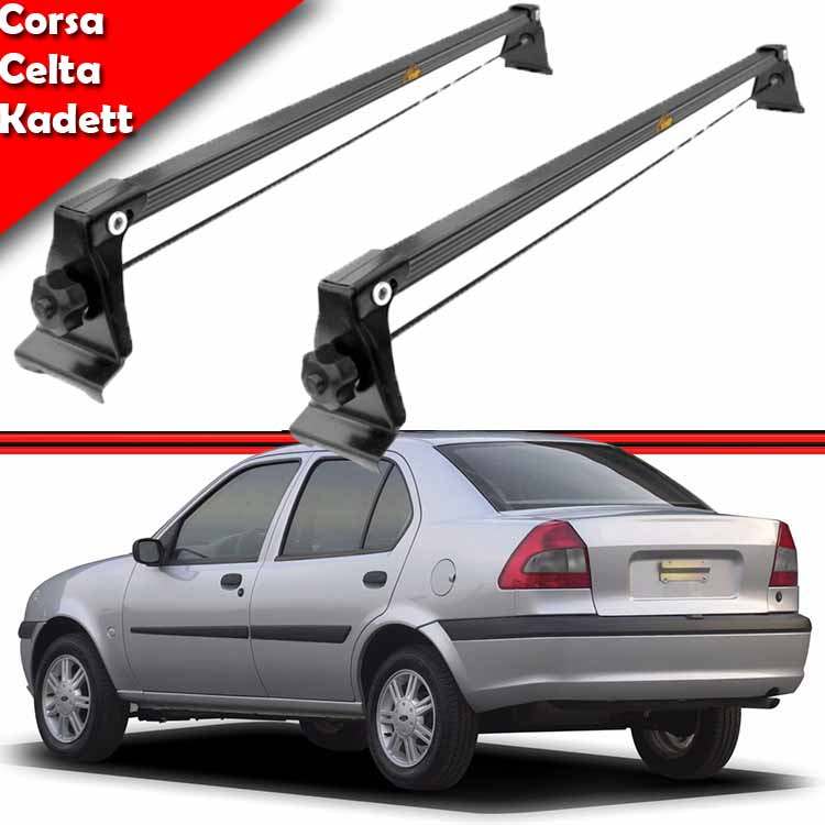 Rack Teto Travessa Bagageiro Fiesta Hatch Street Sedan Fiesta Europeu 94/95  - Amd Auto Pe�as