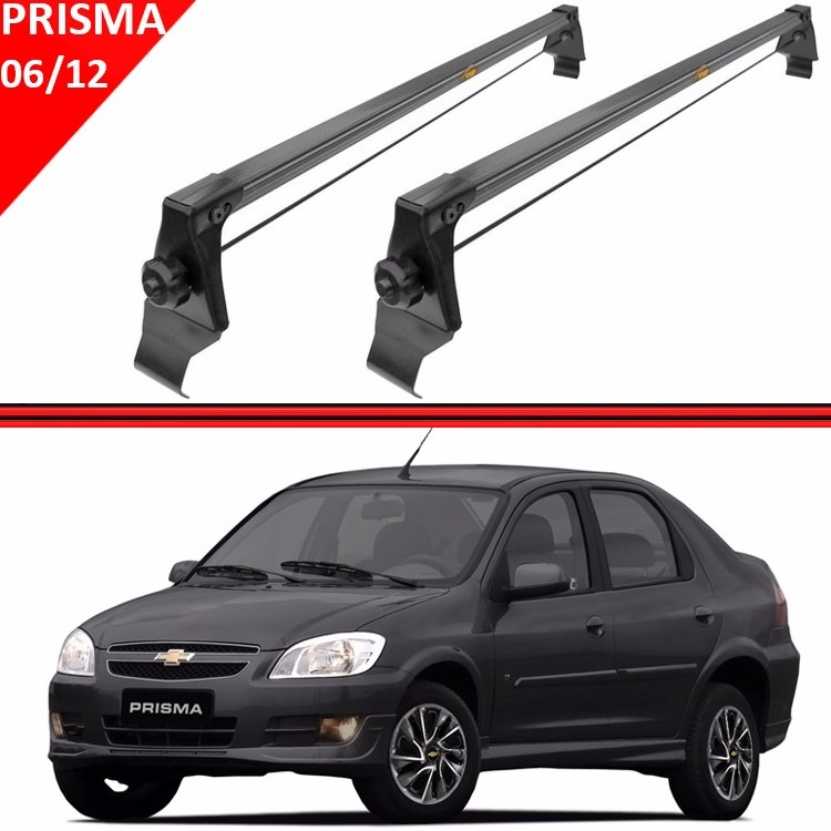 Rack Teto Travessa Bagageiro Prisma 06 a 12  - Amd Auto Peças