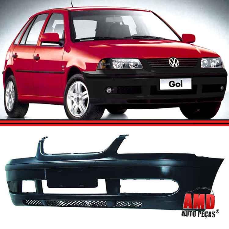 Parachoque Dianteiro Gol G3 GIII Turbo 00 a 02 Preto Texturizado