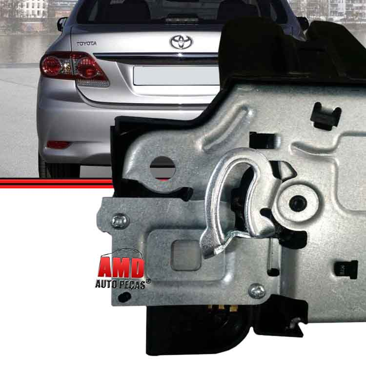 Fechadura Interna Porta Malas Elétrica Corolla G3 08 a 14 4 Portas   - Amd Auto Peças