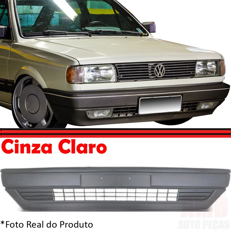 Parachoque Dianteiro Gol Voyage Parati Saveiro 87 a 95 Cinza Claro  - Amd Auto Peças