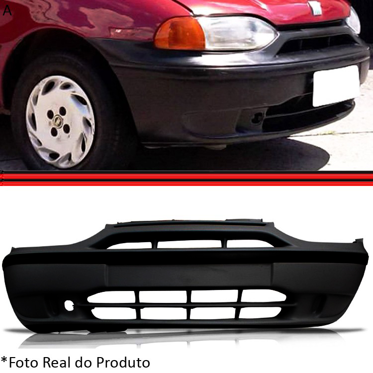 Parachoque Dianteiro Palio Siena Palio Weekend 96 a 99  - Amd Auto Peças