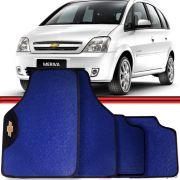 Jogo Tapete Automotivo Carro Astra Meriva Azul