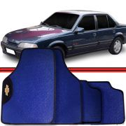 Jogo Tapete Automotivo Carro Monza Bonanza Azul