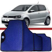 Jogo Tapete Automotivo Carro Fox 03 a 15 Azul