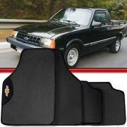 Jogo Tapete Automotivo Carro Chevy-500 Cinza