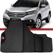 Jogo Tapete Automotivo Carro Civic Honda CR-V Cinza