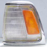 Lanterna Dianteira Hilux 92 a 01 4x2 Aro Cromado