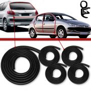 Kit Borracha Porta + Mala Peugeot 206 207 Peugeot 306 Peugeot 307 Passion 207 Scapade 206 207  (5pe�as)