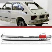 Parachoque Lamina Traseiro Fiat 147 L Cromado Sem Furo