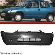 Parachoque Dianteiro Corsa Hatch Super Sedan Wagon Pick-up 94 a 99 Preto Poroso Texturizado