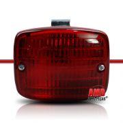 Lanterna Luz Ré Modelo Paquera Vermelho