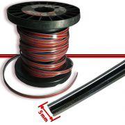 Rolo Filete Friso Cromado Adesivo Carros Motos Universal 5mm 3mts