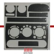 Kit Decorativo Painel Corsa 94 A 10 Fibra Carbono