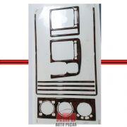 Kit Decorativo Painel Gol Parati Saveiro Bola 95/99 Madeira