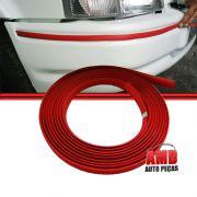 Kit Friso Vermelho Parachoque Escort Hobby XR-3 L GL 87 a 92 Escort 92 a 95 7mts