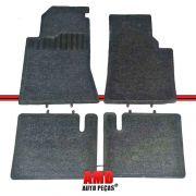Jogo Tapete Automotivo Omega 92 a 98 Suprema Carpete Cinza
