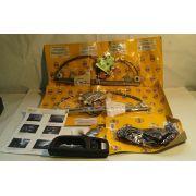 Kit Vidro Eletrico Gol Voyage G5 4 Portas Sensorizado