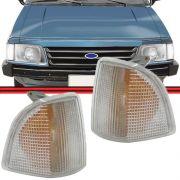 Lanterna Dianteira Corcel Belina II Del Rey 85 a 96 Pampa 85 a 96 Modelo Arteb Cristal