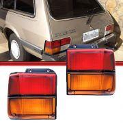 Lanterna Traseira Belina 83 a 91 Bicolor