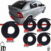Kit Borracha Porta e Porta Malas Astra Hatch 95 a 11 Astra Sedan 99 a 11 4 Portas