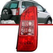 Lanterna Traseira Idea 04 a 07 Grade Vermelha