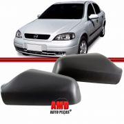 Par Capa Espelho Retrovisor GM Astra 99 a 12 Preto Original Metagal