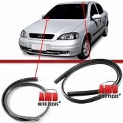 Par Moldura Arremate Borracha Superior + Inferior Parabrisa Astra Hatch Sedan  98 a 11