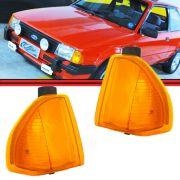 Lanterna Dianteita Pisca Escort 82 A 86 Amarelo