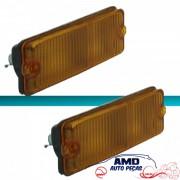 Lanterna Dianteira Fiat 147 76 77 78 79 Amarelo