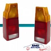 Lanterna Traseira Saveiro 1987 � 1995 Tricolor