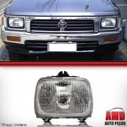 Farol Toyota Hilux SR5 Pick Up l200 l300 Nissa D21 1992 a 2000 Novo