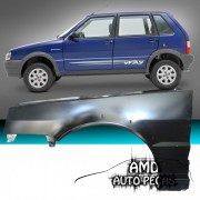 Paralama Uno Way 2004 � 2010 Original Lado Esquerdo - Amd Auto Pe�as