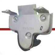Fechadura Mala Vectra 97 a 05 Astra Sedan 02 a 12 Mecânica Pré-Disposta para Elétrica