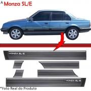 Jogo Friso Lateral Monza SLE 87 a 90 4 Portas 15cm