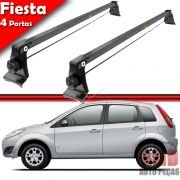 Rack Teto Travessa Bagageiro Fiesta Hatch Sedan