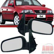 Retrovisor Espelho Gol Parati Saveiro GIII G3 4 Portas Sem Controle