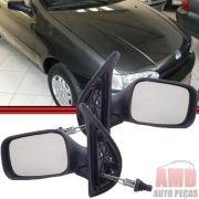 Retrovisor Espelho Palio Siena Strada Weekend 96 A 00 2 Portas Com Controle