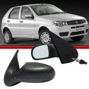 Retrovisor Espelho Palio Siena Strada Weekend 04 a 07 4 Portas Com Controle