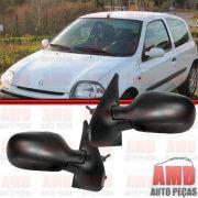 Retrovisor Espelho Renault Clio 00 a 11 Com Controle