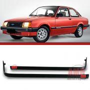 Friso Acabamento Saia Dianteira Chevette Marajó 83 a 86 Chevy 500 Preto 83 a 96 Plástico