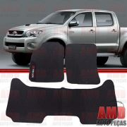 Tapete Hilux Cabine Dupla 3 pe�as