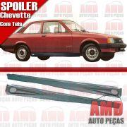 Par Spoiler Lateral Chevette 83 á 96 com Tela