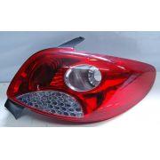 Lanterna Traseira Peugeot 207 08 a 12 Grade Cromada
