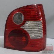 Lanterna Traseira Polo Hatch 03 a 10 Bicolor Pisca Branco