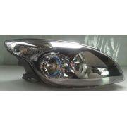 Farol Hyundai i30 08 a 12 Duplo Mascara Negra Lado Direito