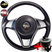Volante Esportivo Attractive Rallye Gol Saveiro Voyage G5 Polo Fox Golf + Cubo