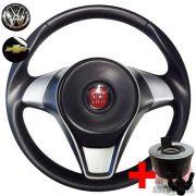 Volante Esportivo Attractive Rallye Fiat Europa Spazio + Cubo